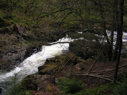 PICT0050 Rapids, Afon Llugwy, Betws Y Coed, Snowdonia