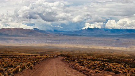 Altiplano landscape – Lauca National Park, Chile