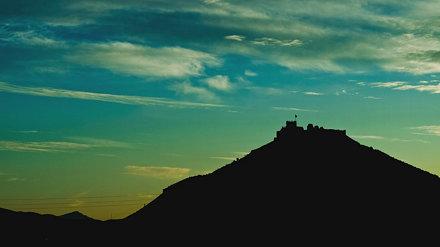 Castillo de Tabernas - Time-lapse