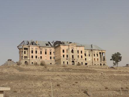 Ruins of a palace near the Kale-i Muslim village, Kabul
