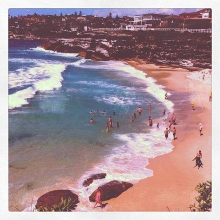 Beach. 2.