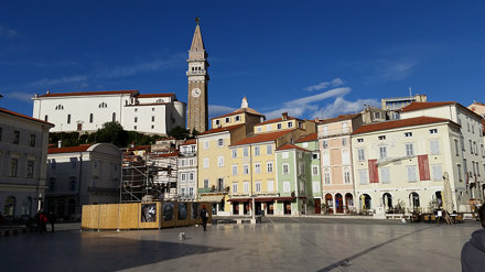 Piran : place Tartini
