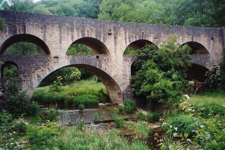 Rothenburg: Tauberbrücke
