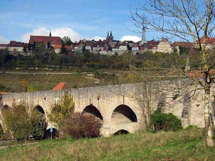Rothenburg, Doppel Brucke/Double Bridge