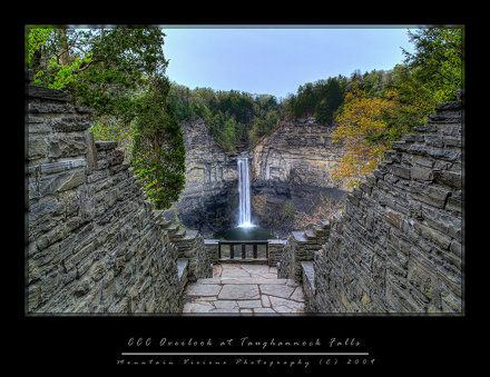 CCC Overlook at Taughannock Falls