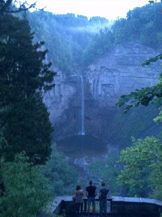 Taughannock Falls via Droid 3