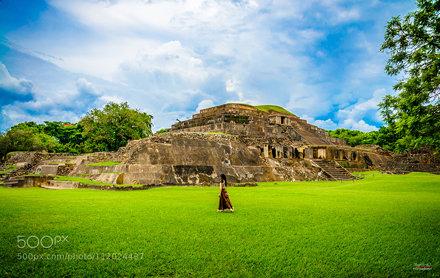 Tazumal Pyramid
