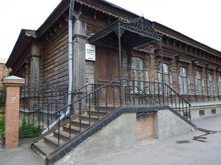 Russisches Holzhaus 1