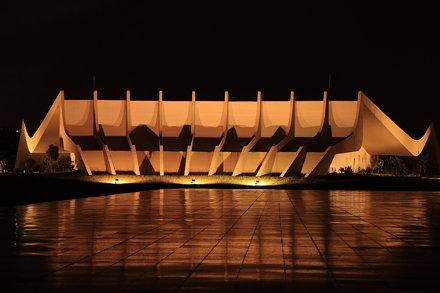 Théatre du Siège des Armées (Theatro do Quartel General do Exercito) - Brasilia - Brésil