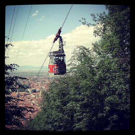 Somewhere over the city #Tampa #Transilvania #Transylvania #Romania #hiking #mountain