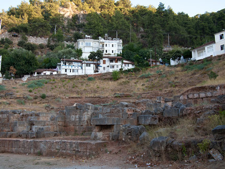 The ruin of Telmessos Theatre