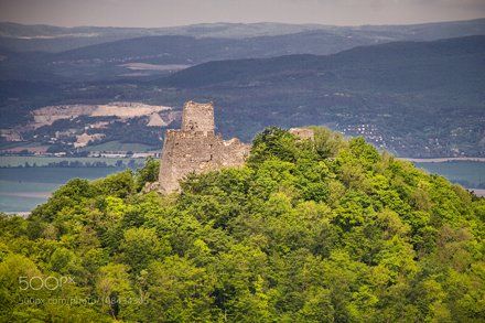 Tematin castle ruins, Slovakia