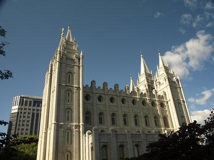 Salt Lake Temple, Salt Lake City, Utah