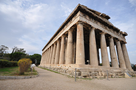 Temple of Hephaestus - Agora of Athens