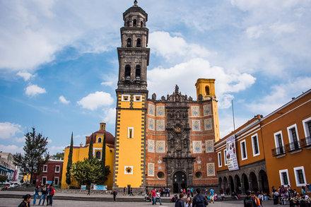 2016 - Mexico - Puebla - Templo Conventual de las Cinco Llagas de San Francisco