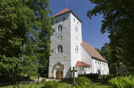 Tērvetes Kalnamuižas evaņģēliski luteriskā baznīca, 07.06.2015.