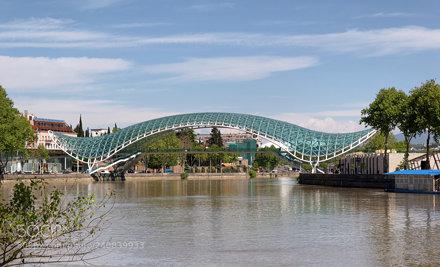 Tbilisi. The Bridge of Peace