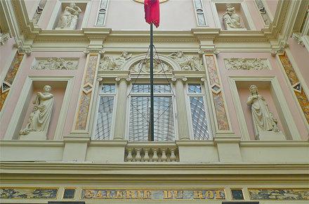 Koninklijke galerijen Brussel centrum