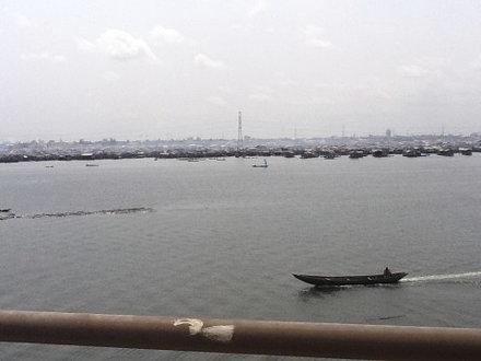 View From 3rd Mainland Bridge Lagos, Nigeria