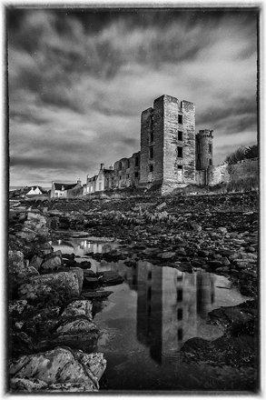 Moonlit Thurso Castle