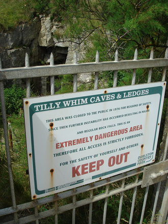 Tilly Whim Closed Sign