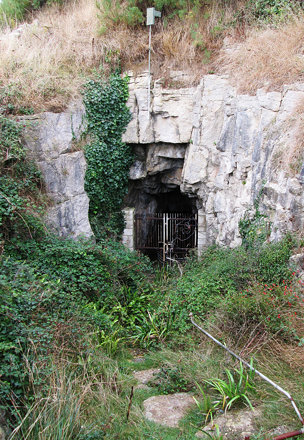 Entrance to Tilly Whim Caves