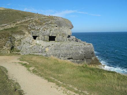 Dorset Coast Path: Tilly Whim Caves (Dorset)