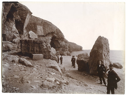 Tilly Whim Caves, Durlston Head, Swanage, Dorset