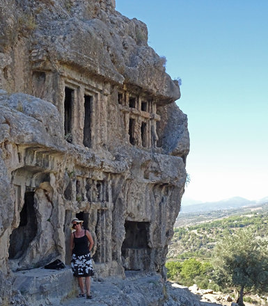 Tlos cliff tombs