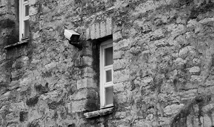 Estonian CCTV in Old Town