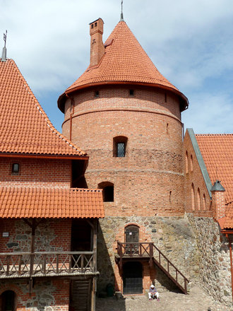 Trakai, Lithuania, Island Castle, Tired Tourist