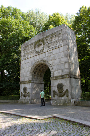 Entrance to Soviet War Memorial, Treptower Park