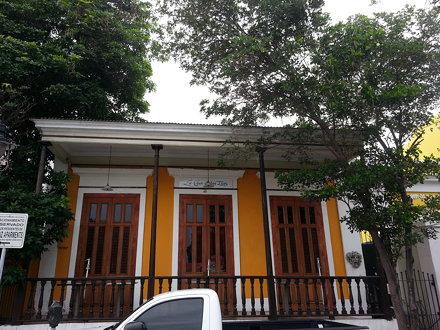 Ponce's architecture.Las Casas de Las Tias.