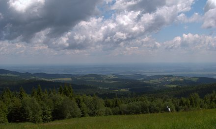 Clouds over Pohorje