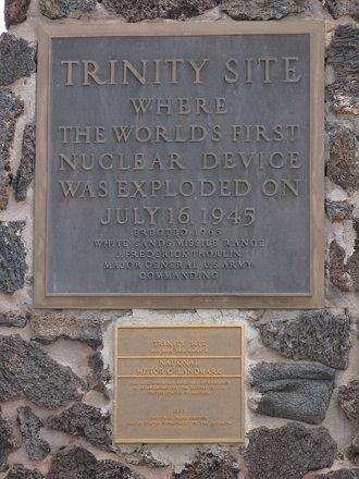 Trinity Atomic Bomb Site Obelisk