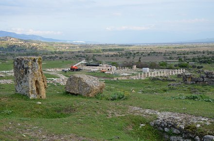 The excavations in 2015, Tripolis on the Meander, Lydia, Turkey