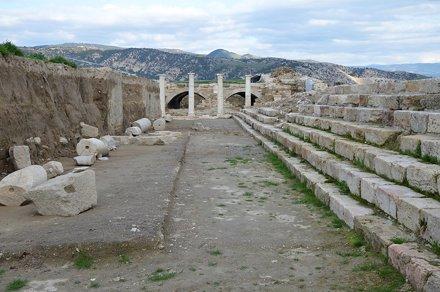 The Late Roman Agora, Tripolis on the Meander, Lydia, Turkey