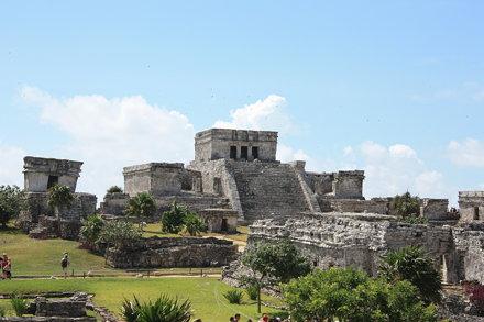 Tulum Castle, Quintana Roo, México