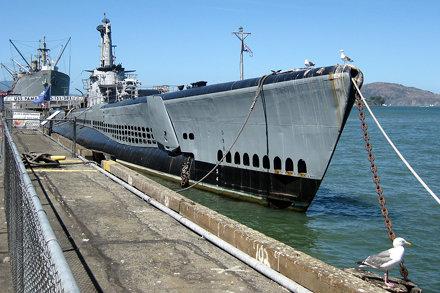 San Francisco - Fisherman's Wharf: USS Pampanito
