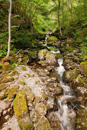 Below Uisage Ban Falls