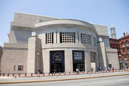 Exterior of the United States Holocaust Memorial Museum