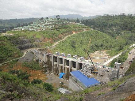 Upper Kotmale Dam