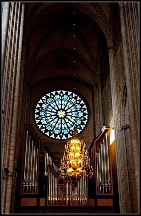 Uppsala domkyrkas orgelpipor