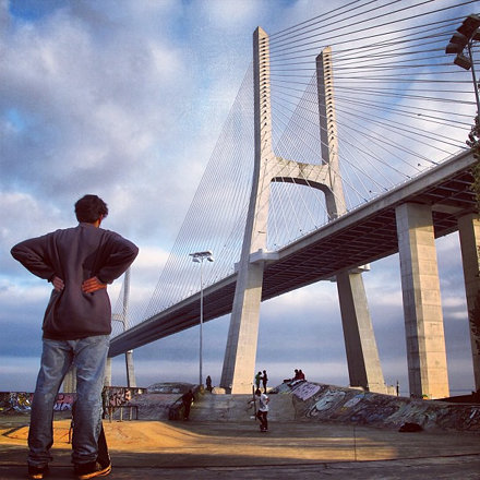 Ponte Vasco da Gama SK8