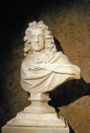 2010.08.22.143 VAUX-le-VICOMTE - Buste d'André qui dessina les jardins