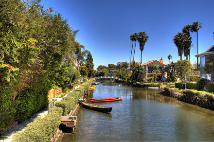 Venice, CA #3, same canal, different view
