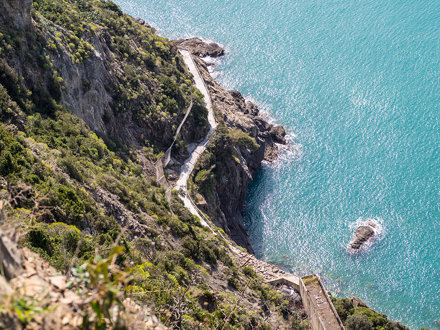 via dell'amore, Cinque Terre