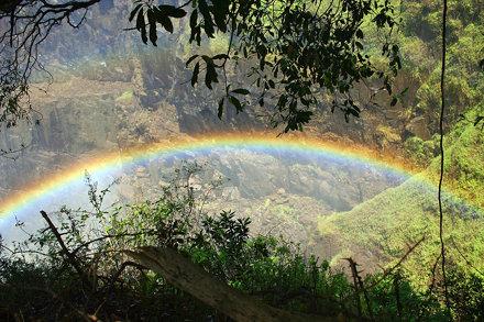 Vicoria Falls Rainbow