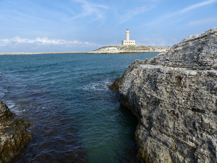 Vieste - The Bay and Lighthouse