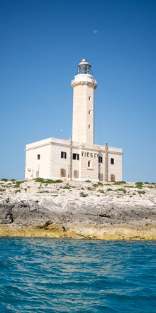 Vieste Lighthouse, guard of the Sea